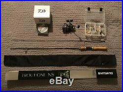 Spinning Rods Combos And Lures