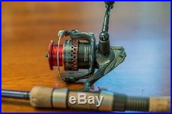 St Croix Rod with Shimano CI4 2500F Reel