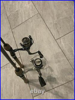 St croix panfish spinning rod and reel combos