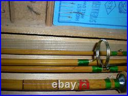 Sukurai Bamboo Spin/Fly Rod Unique Combo. Kit. 8'2pc. Fly, 5'6'' 2pc+8'-3pc. Spin