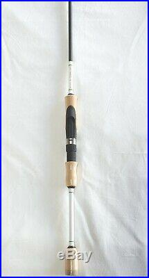 Superior Trout Spinning Combo 7'6 2PC Rod Fuji Guides/5 BB Reel 2-8 Lb