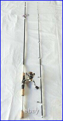 Superior Trout Spinning Combo 8'6 2PC Rod Fuji Guides/5 BBReel 1-4 LB