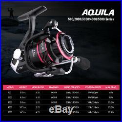 Telescopic Fishing Rod Spinning Reel Combo Fishing Tackle Box Full Kit Saltwater