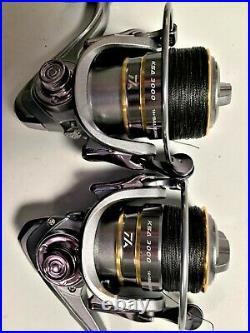 Two Master Spectra 7, 2-Pc Rod & KSA3000 (14+1 bb) Reel Braid Combos