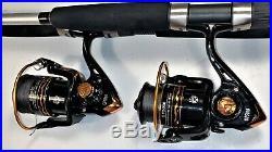 Two SB 7' Competitor Rod & GF4000 (10+1 bb) Reel (Black Braid) Combos