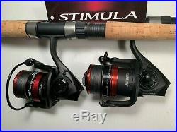 Two Shimano 6½' Stimula Rod & GF4000 (10+1 bb) Reel Combos