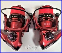 Two Shimano Sojourn 6½ or 7, 2-Pc Rod & XF4000 (13+1 bb) Reel Combos