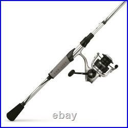 USA Made Abu Garcia REVO X LTD Spinning Rod/Reel Fishing Combo, Silver