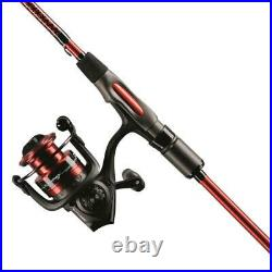 Ugly Stick Carbon Series 6'6 Spinning Rod and Reel Combo (Legendary Toughness)