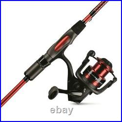 Ugly Stick Carbon Series Spinning Rod And Reel Combo 6'6 MD 2 PC Medium Power