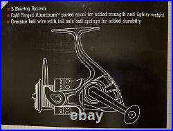 Ugly Stik Elite 6' 6 Medium 2 Pc Spinning Combo Bonus Spool Powerbait Hooks Kit