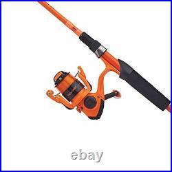 Ugly Stik Hi-Lite Spinning Reel and Fishing Rod Combo Orange, 30 Reel Size 6