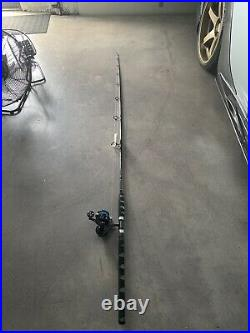 Vaan Staal 200 Vs Combo With a 8 Foot spinning Rod