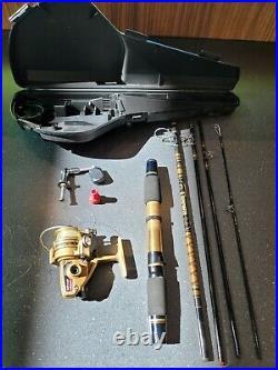 Vintage Daiwa Mini-Mite Gold Series Spinning Reel & Rod Combination System