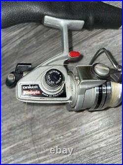 Vintage Daiwa Mini spin Ultra Lite Rod and reel combo pack rod Made In Japan