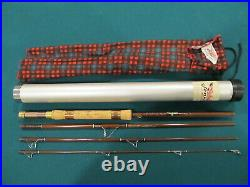 Vintage Fenwick 7' combination fly/spin pac rod. New condition