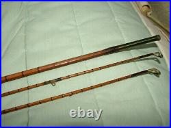 Vintage Helical Casting Reel Co, Split Cane Two Piece, Combination Spin/Fly Rod