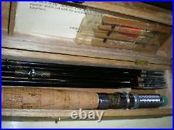 Vintage, Japanese, Sukurai Bamboo Fly/Spin Rod Combo. Kit. 8'-3/2 Fly+5'6''-2pc. Spin