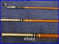 Vintage TRUE TEMPER UNI-SPIN 63 MULTI-TIP ROD & 63L REEL COMBO + Case