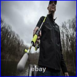 Xfinity XJ 6' Medium Action Spinning Fishing Rod and Reel Combo, Heavy Duty