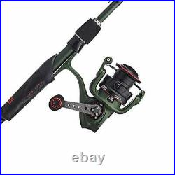 Zata Spinning Reel and Fishing Rod Combo 20 Size Reel 6'10 Ml 1pc