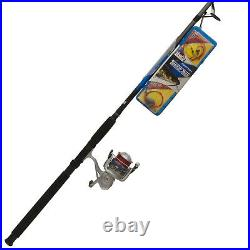 Zebco Ready Tackle Spinning Reel and Fishing Rod Combo, Includes Tackle