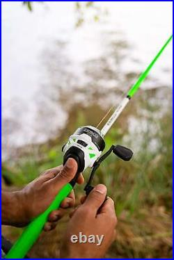 Zebco Roam Telescopic Fishing Rod and Spinning or Spincast Fishing Reel Combo